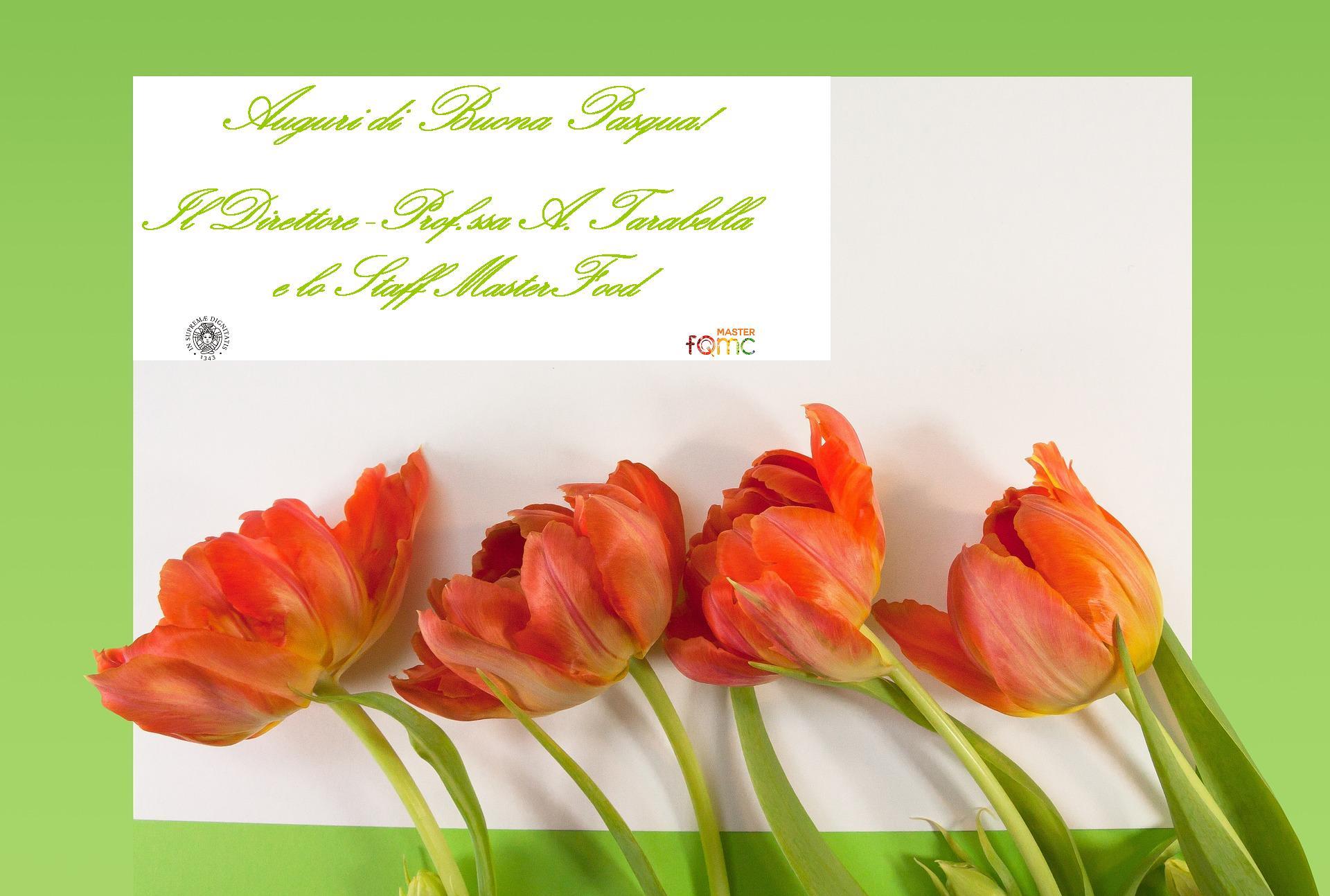 Buona Pasqua dal Master  Food Quality Management and Communication