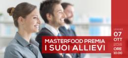 Il MasterFood premia i suoi allievi