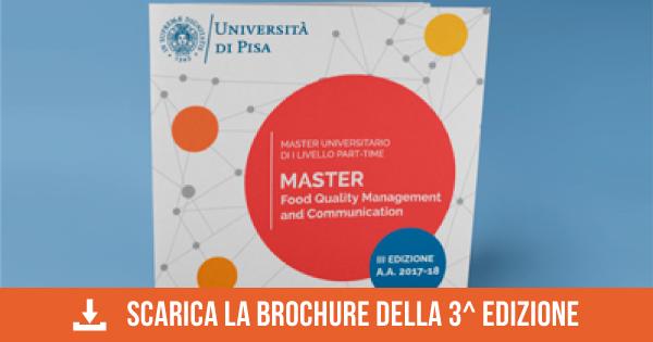 Informazioni sul Master Food Pisa