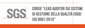SGS Italia, Corso Lead Auditor Sistemi Gestione Qualità Pisa