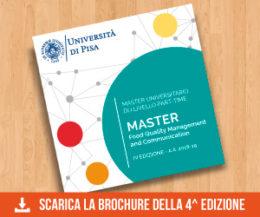 Il programma della IV Edizione Masterfood_a.a. 2018/19