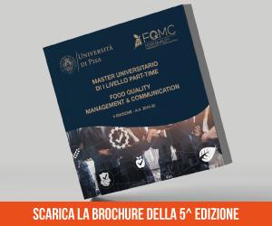 Master Food Pisa Edizione 2019/2020