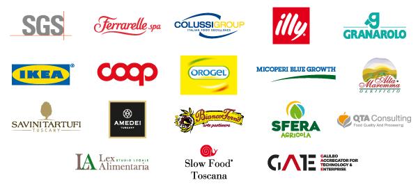 Aziende, sponsor e partner Master Food Pisa
