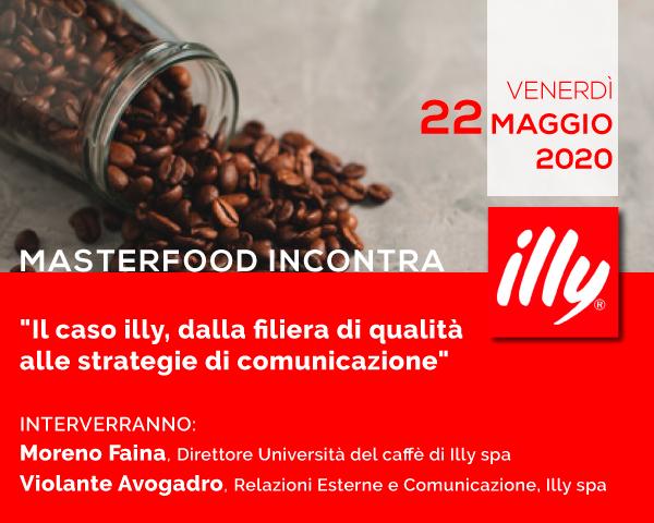 Illy caffè al Master Food dell'Università di Pisa