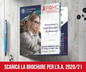 Informazioni sul Master Food Pisa a.a. 2020/2021