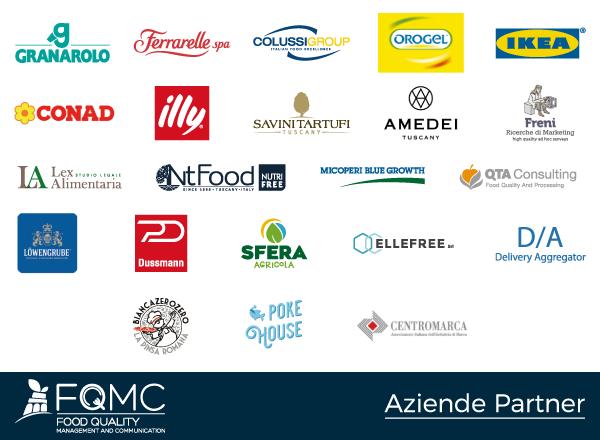 Le Aziende partner del Master Food Pisa