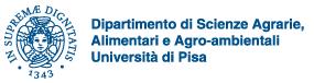 Logo dipartimento scienze agrarie pisa