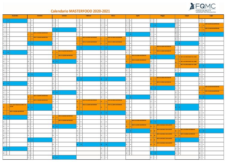 calendario didattico 2020/21